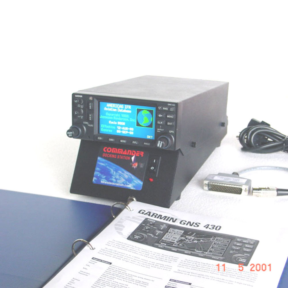 Commander GNS-530 Docking Stations